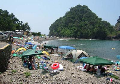 浮島海水浴場